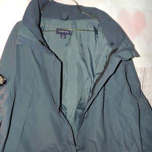 Land's End waterproof coat L 42-44